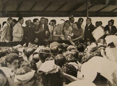 Buenos Aires, Saavedra, Barrio Juan Perón, 1949, AGN photo, Eva Perón