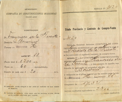 Buenos Aires, Flores, Barrio Varela-Bonorino, CCM house purchase
