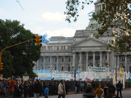 Argentina, inauguration, Kirchner, 2003