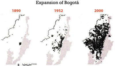 Bogotá expansion