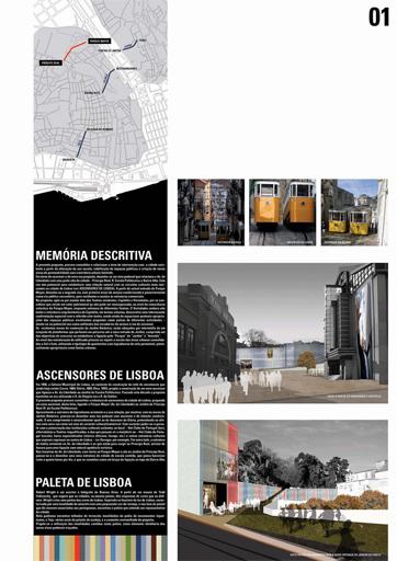 Ateliermob Lisboa Lisbon color palette Parque Mayer