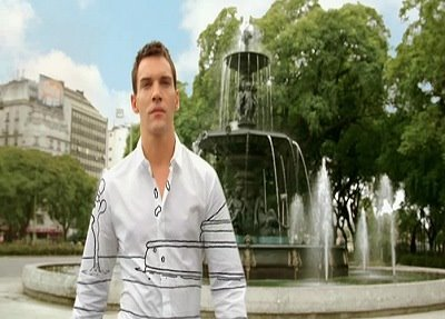 Hugo Boss Element, Jonathan Rhys-Meyers, Buenos Aires