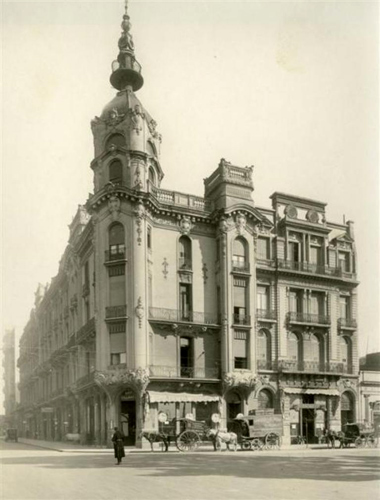Buenos Aires, San Nicolás, Tribunales, Plaza Lavalle, Palacio Costaguta, Alfredo Massüe, Art Nouveau