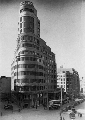 Edificio Capitol, Madrid, 1930s
