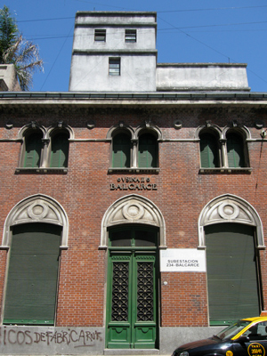 CIAE architecture, Buenos Aires, Monserrat, Subusina Balcarce