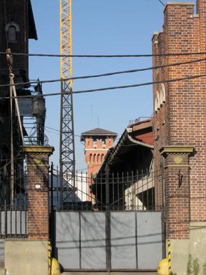 CIAE architecture, Buenos Aires, La Boca, Chiogna, Usina Pedro de Mendoza, service entrance