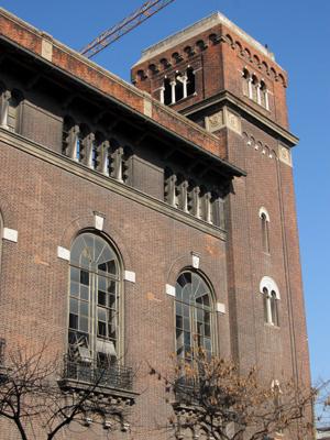 CIAE architecture, Buenos Aires, Usina Pedro de Mendoza, Chiogna, La Boca