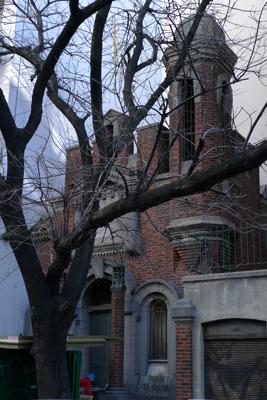 CIAE architecture, Juan Chiogna, Buenos Aires, Palermo, Chenaut substation