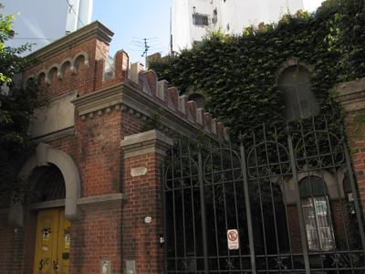 CIAE architecture, Juan Chiogna, Buenos Aires, Palermo, Julián Alvarez substation