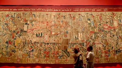 Portugal, Lisboa, Museu Nacional de Arte Antiga, Tapeçarias de Pastrana