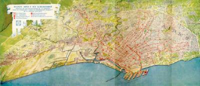 CIAE, building map, 1931