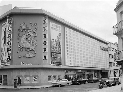 Portugal, Lisboa, Cinema Europa, Antero Ferreira, 1958