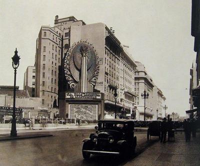CIAE publicidad, Buenos Aires, Diagonal Norte, 1932