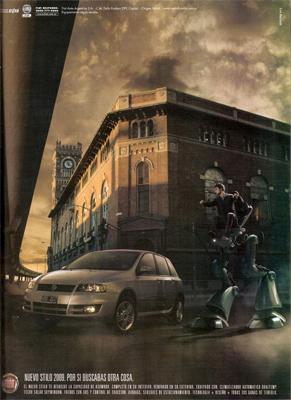 CIAE architecture, Buenos Aires, La Boca, Usina Pedro de Mendoza, Fiat publicidad