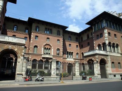 Cecilio Arpesani, Palazzo Gonzaga di Vescovado, Milan