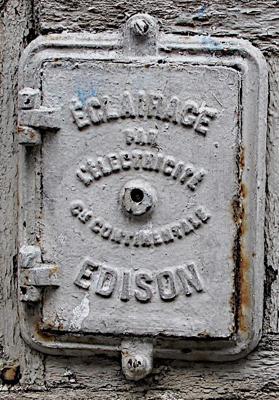 Paris, Éclairage par l'électricité, Compagnie Continentale Edison
