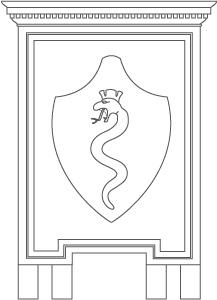 CIAE architecture, Buenos Aires, Barracas, Azara & Quinquela Martín, serpent