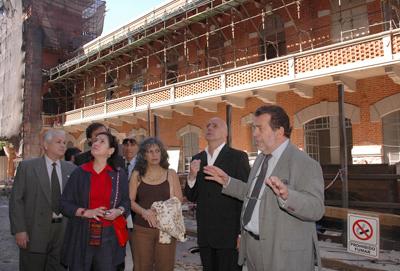 CIAE architecture, Buenos Aires, Usina Pedro de Mendoza, Chiogna, La Boca, Jorge Telerman