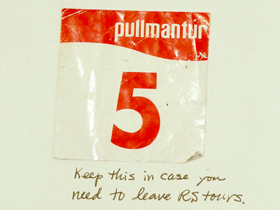 Pullmantur sticker