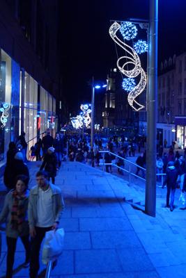 Glasgow, Christmas shopping