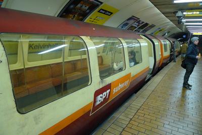 Glasgow, subway