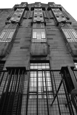 Scotland, Glasgow, Art Nouveau, School of Art, Charles Rennie Mackintosh