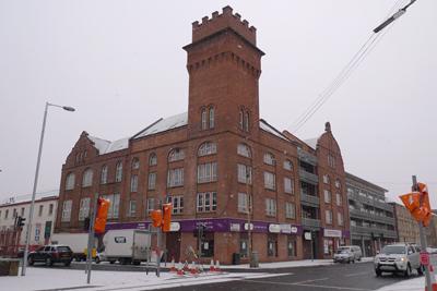 Scotland, Glasgow, brick architecture