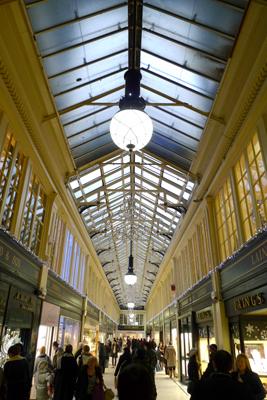 Scotland, Glasgow, Argyll Arcade