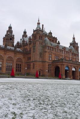 Scotland, Glasgow, Scots Baronial architecture