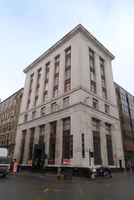 Scotland, Glasgow, Art Deco, bank architecture