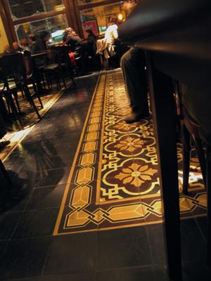 Buenos Aires, Balvanera, Café de los Angelitos, encaustic tiles