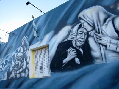 Argentina, Chubut, Rawson, mural, Concejo Deliberante