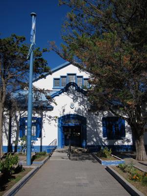 Argentina, Chubut, Rawson, escuela, Neocolonial