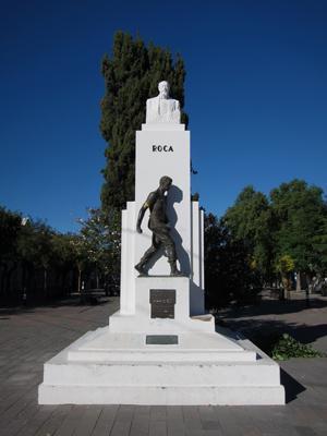 Argentina, Chubut, Rawson, Roca, monumento