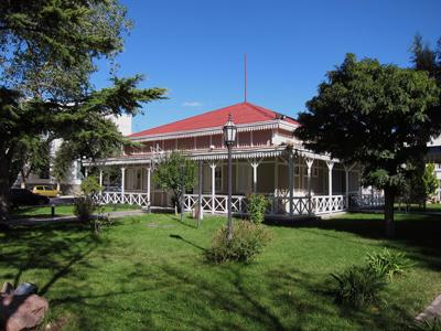 Argentina, Chubut, Trelew, Plaza Independencia, Museo de Artes Visuales