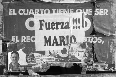 Argentina, Chubut, Trelew, Fuerza Mario poster