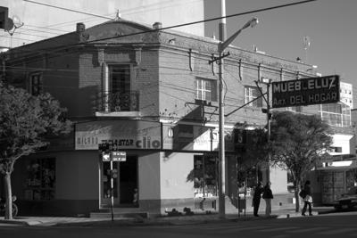 Argentina, Chubut, Trelew, street scene
