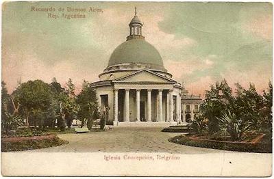 Buenos Aires, Belgrano, Iglesia de la Inmaculada Concepción, La Redonda