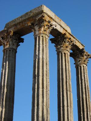 Portugal, Évora, templo romano, Roman temple