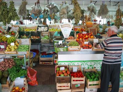 Portugal, Évora, mercado velho