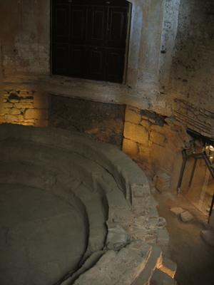 Portugal, Évora, town hall, Câmara Municipal, Roman baths, termos