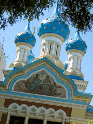Buenos Aires, San Telmo, Alejandro Christophersen, Iglesia Ortodoxa Rusa