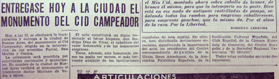El Mundo, 13 Oct 1935, El Cid