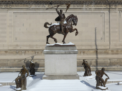 NYC, Hispanic Society of America, El Cid, Anna Hyatt Huntington
