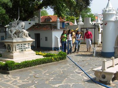 Portugal, Coimbra, Portugal dos Pequenitos, Cassiano Branco