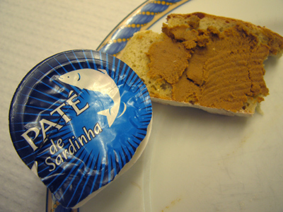 Portugal, food, paté de sardinha