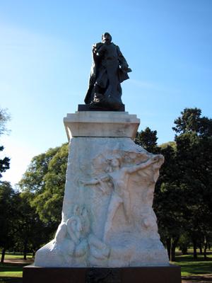 Buenos Aires, Palermo, Parque 3 de Febrero, Sarmiento, Rodin