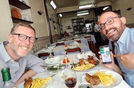 Robert Wright, Portugal, food, frango piri-piri, Bonjardim