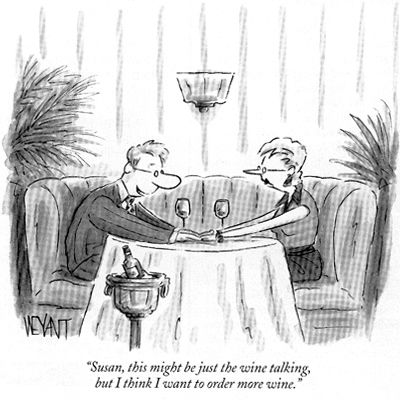 The New Yorker, cartoon, wine