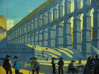 Buenos Aires, subte, subway, tiles, azulejos, Línea C, Estación Avenida de Mayo